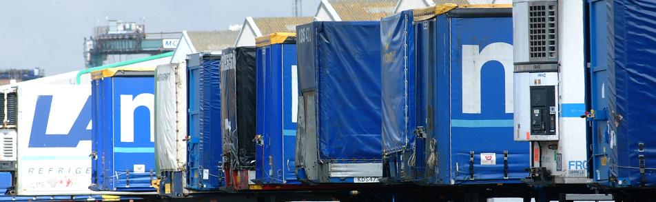 International freight trailers